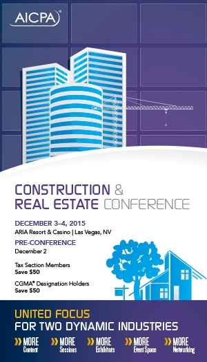 Construction & Real Estate Conference 2015