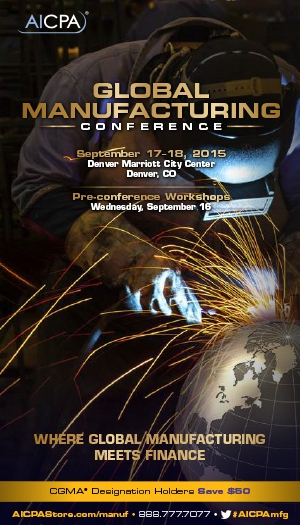 Global Manufacturing Conference 2015
