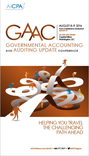 Governmental Accounting and Auditing Update Conference 2016