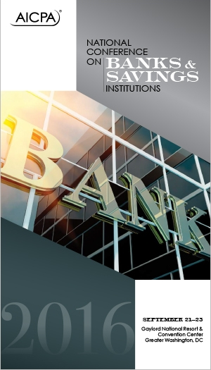National Conference on Banks & Savings Institutions 2016