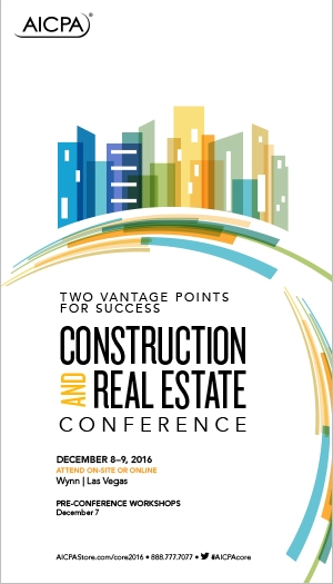 Construction and Real Estate Conference 2016