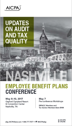 Employee Benefit Plans Conference 2017