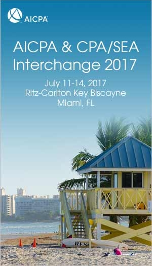 AICPA & CPA/SEA Interchange 2017
