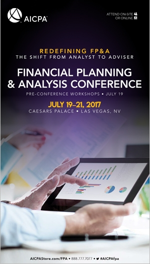 Financial Planning & Analysis Conference 2017