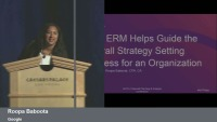 How the ERM Process Helps Guide the Overall Strategy Setting Process for an Organization