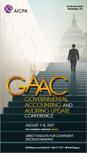Governmental Accounting and Auditing Update Conference 2017