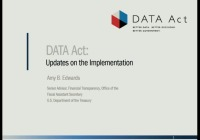DATA Act: First -Year Reporting