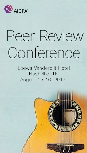 Peer Review Conference 2017