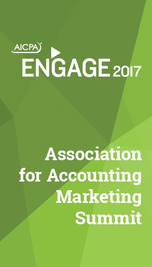 Association for Accounting Marketing Summit 2017 (part of ENGAGE)