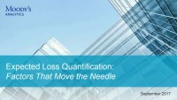 Expected Loss Quantification: Factors That Will Move the Needle