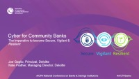 Cyber for Community Banks