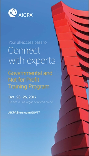 Governmental and Not-for-Profit Training Program 2017