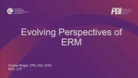 Evolving Perspectives of ERM