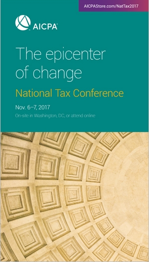 National Tax Conference 2017
