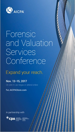 Forensic & Valuation Services Conference 2017