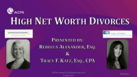 High Net Worth Divorces