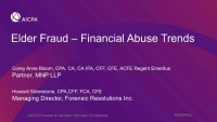 Elder Fraud - Case Studies