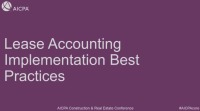 Lease Accounting Implementation Best Practices