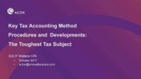 IRS Tax Accounting Method Changes and Proper Form 3115 Preparation