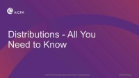 Distributions - All You Need to Know