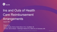 Ins and Outs of Health Care Arrangements