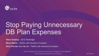 Stop Paying Unnecessary DB Plan Expenses