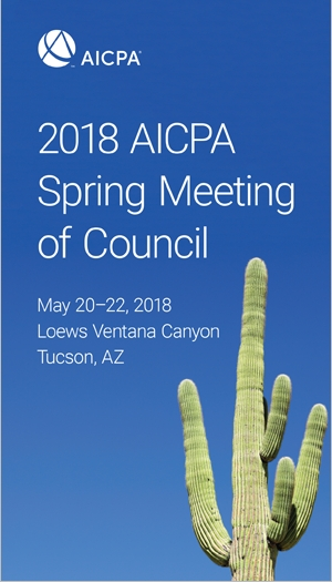 2018 AICPA Spring Meeting of Council