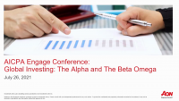 PFP2107. Global Investing: The Alpha and The Beta Omega