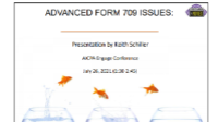 EST2110. Advanced 709 Form Issues