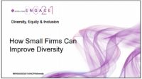 DEI2103. How Small Firms can Improve Diversity