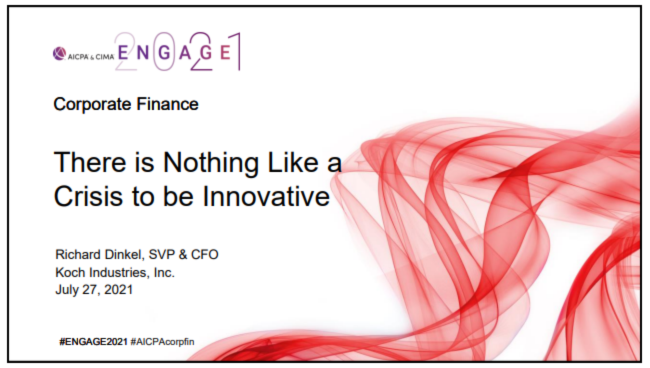 FIN2103. There is Nothing like a Crisis to be Innovative