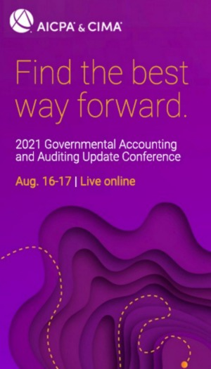 AICPA & CIMA 2021 Governmental Accounting & Auditing Online Update