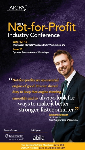 National Not-for-Profit Industry Conference 2014