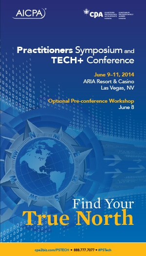 AICPA Practitioners Symposium and Tech+ Conference 2014