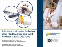 Call to Action: Implementing the National Action Plan for Adverse Drug Event Prevention to Benefit Older Adults