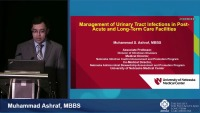 Updates in Management of Common Infections in PALTC Facilities