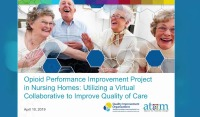 Opioid Performance Improvement Project in Nursing Homes: Utilizing a Virtual Collaborative to Improve Quality of Care