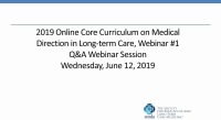 Spring Online Core Q and A Webinar #1
