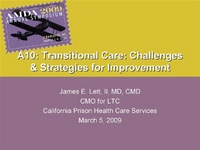 Transitional Care: Challenges and Strategies for Improvement