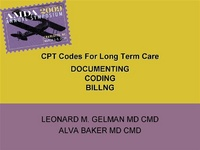 Everything You Wanted to Know About Billing and Coding in Long Term Care