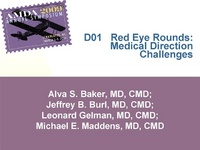 Red Eye Rounds: Medical Direction Challenges