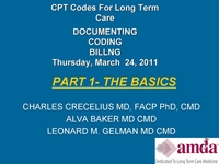 Update on Billing and Coding