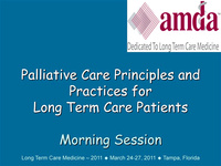 Palliative Care Part I: Clinical and Ethical Considerations
