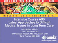 Latest Approaches to Difficult Medical Issues in Long Term Care
