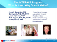 Improving Care by Reducing Avoidable Hospitalizations: Implementing the INTERACT Program in Your Facility