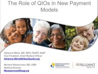 The Role of QIOs in New Payment Models