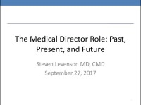 Role of Medical Directors