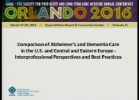 Comparison of Alzheimer's and Dementia Care in the U.S. and Central and Eastern Europe: Interprofessional Perspectives and Best Practices