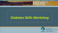 Diabetes Skills Workshop