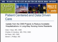 Person-Centered and Data-Driven Care: How Innovation Among Centers for Medicare & Medicaid Services Innovation Center (CMMI) Demonstration Projects is Personalizing Care Across Several States